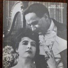 Cine: BERTINI. SERENA - TOSCA - FOTO POSTAL ORIGINAL. Lote 198203688