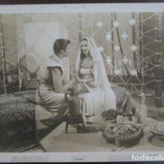 Cine: MARIA MONTEZ - FOTO ORIGINAL B/N - SUDAN TURHAN BEY FILM SCENE. Lote 198213377