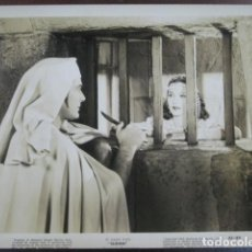 Cine: MARIA MONTEZ - FOTO ORIGINAL B/N - SUDAN JON HALL FILM SCENE JAIL. Lote 198213447