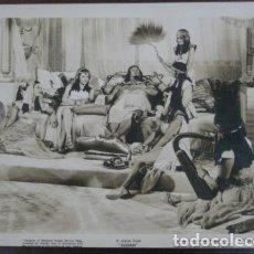 Cine: SUDAN - FOTO ORIGINAL B/N - SUDAN ANDY DEVINE FILM SCENE . Lote 198213622
