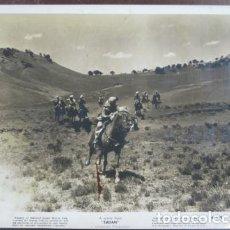 Cine: SUDAN - FOTO ORIGINAL B/N - SUDAN HORSE CHASE MARIA MONTEZ FILM SCENE . Lote 198214125