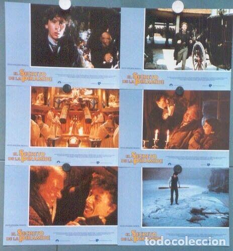 Cine: SCDO 012 SHERLOCK HOLMES EL SECRETO DE LA PIRAMIDE SPIELBERG SET 12 FOTOCROMOS ORIGINAL ESTRENO - Foto 2 - 198248947