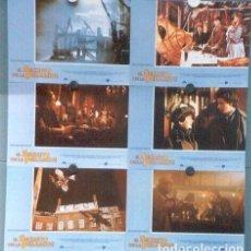 Cine: SCDO 012 SHERLOCK HOLMES EL SECRETO DE LA PIRAMIDE SPIELBERG SET 12 FOTOCROMOS ORIGINAL ESTRENO. Lote 198248947