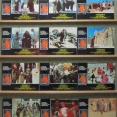 Cine: SCDO 006 LA VIDA DE BRIAN MONTY PYTHON SET COMPLETO 12 FOTOCROMOS ORIGINAL ESPAÑOL R-89. Lote 236344150