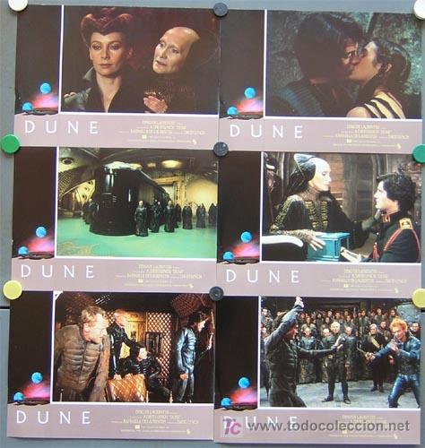 Cine: T00201 DUNE DAVID LYNCH STING SET COMPLETO DE 12 FOTOCROMOS ORIGINAL ESTRENO - Foto 2 - 198457102