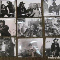 Cinema: UN DOLAR PARA SARTANA - 15 FOTOS ORIGINALES B/N LEÓN KLIMOVSKY SPAGHETTI WESTERN PETER LEE LAWRENCE. Lote 199063522