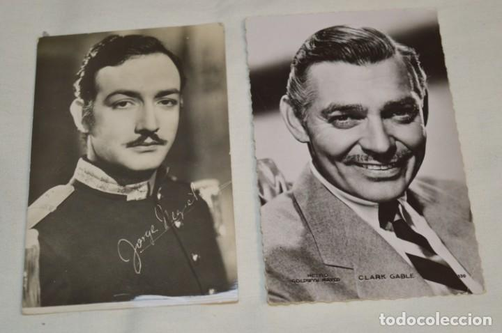 Cine: 13 postales antiguas - Actores / actrices, artistas - En B/N - Mira fotos y detelles - Foto 2 - 199245937
