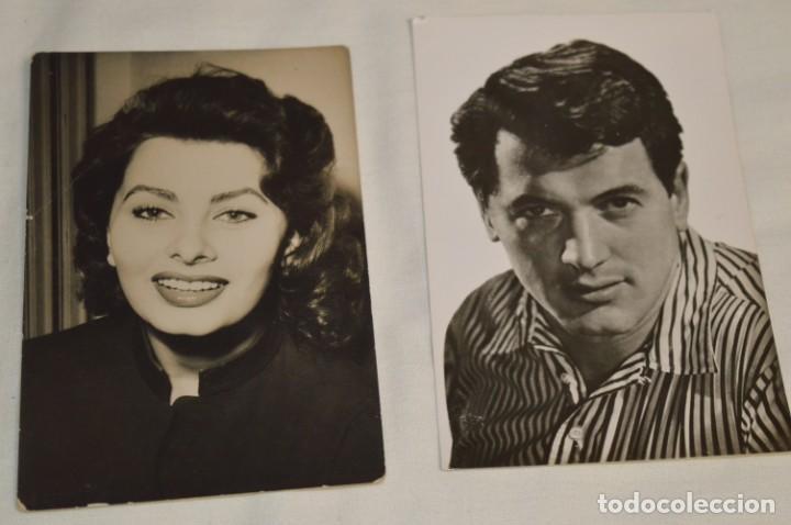 Cine: 13 postales antiguas - Actores / actrices, artistas - En B/N - Mira fotos y detelles - Foto 3 - 199245937