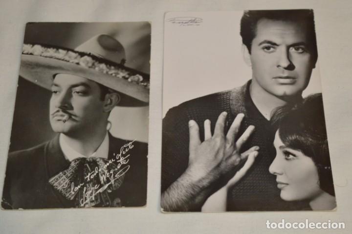 Cine: 13 postales antiguas - Actores / actrices, artistas - En B/N - Mira fotos y detelles - Foto 4 - 199245937