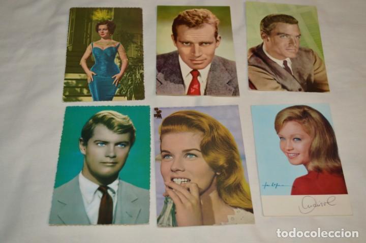 Cine: 48 postales antiguas - Años 60 - Actores / actrices, artistas - En B/N - ¡Mira fotos y detelles! - Foto 2 - 199246696