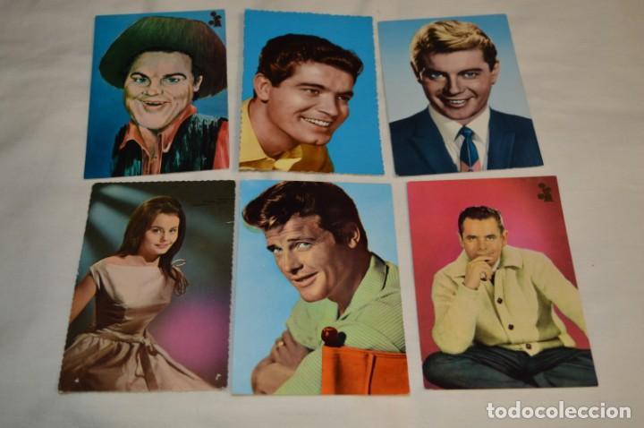 Cine: 48 postales antiguas - Años 60 - Actores / actrices, artistas - En B/N - ¡Mira fotos y detelles! - Foto 3 - 199246696