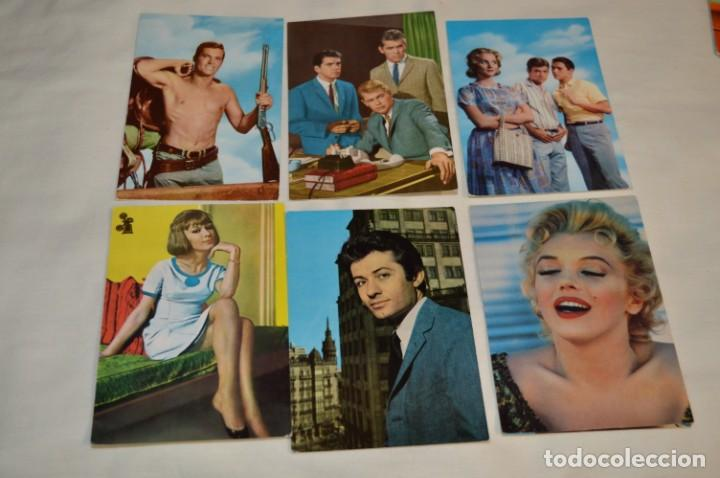 Cine: 48 postales antiguas - Años 60 - Actores / actrices, artistas - En B/N - ¡Mira fotos y detelles! - Foto 4 - 199246696