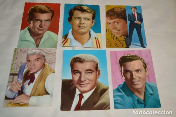 Cine: 48 postales antiguas - Años 60 - Actores / actrices, artistas - En B/N - ¡Mira fotos y detelles! - Foto 5 - 199246696