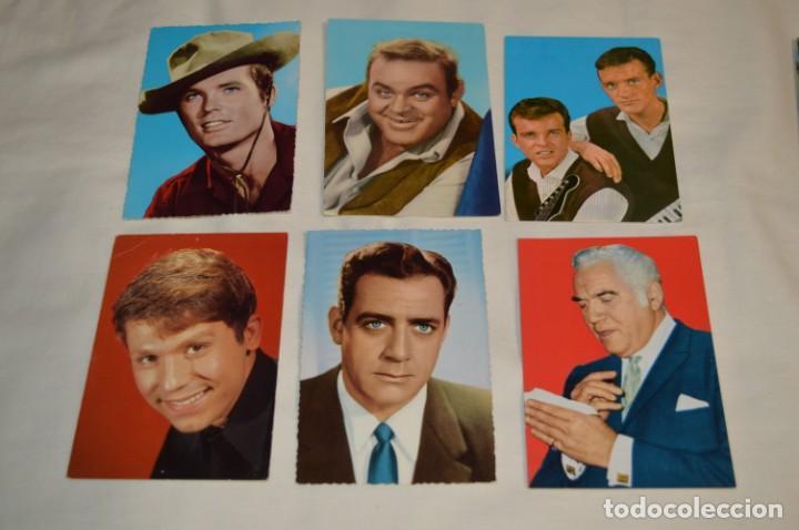 Cine: 48 postales antiguas - Años 60 - Actores / actrices, artistas - En B/N - ¡Mira fotos y detelles! - Foto 7 - 199246696