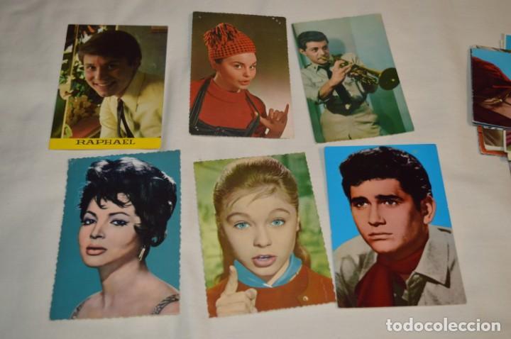 Cine: 48 postales antiguas - Años 60 - Actores / actrices, artistas - En B/N - ¡Mira fotos y detelles! - Foto 8 - 199246696