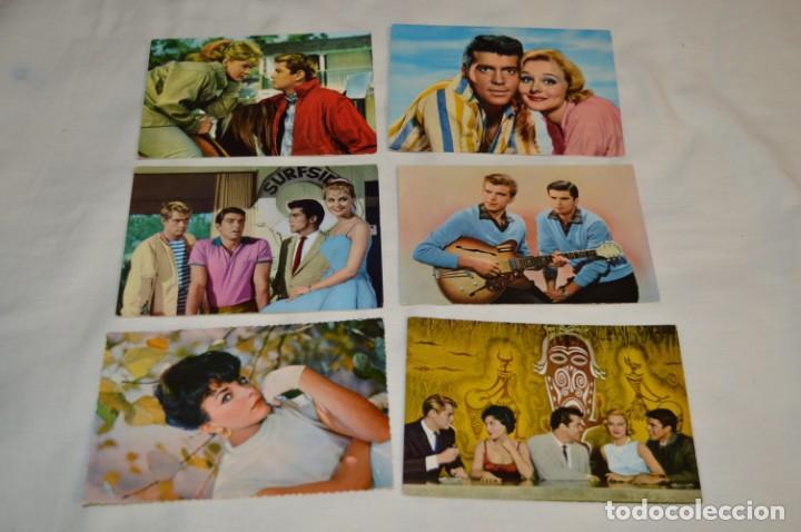 Cine: 48 postales antiguas - Años 60 - Actores / actrices, artistas - En B/N - ¡Mira fotos y detelles! - Foto 9 - 199246696