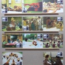 Cine: LA PRINCESA DESNUDA, AJITA WILSON, TINA AUMONT - SET 11 FOTOCROMOS, AÑO 1978. Lote 199555567