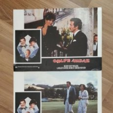 Cine: LOTE 3 FOTOCROMOS DE LA PELICULA GOLPE AUDAZ. BURT REYNOLDS, LEDLEY DOWN, DAVID NIVEN. . Lote 199903210