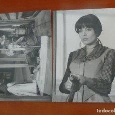 Cinema: AGATA LYS EL VALLE DE LAS VIUDAS 2 FOTOS ORIGINALES ANTIGUAS. Lote 200079131