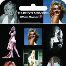 Cine: MARILYN MONROE SET 9 IMANES * PRODUCTO OFICIAL * EDICIÓN LIMITADA * EN BLISTER SELLADO. Lote 201110782