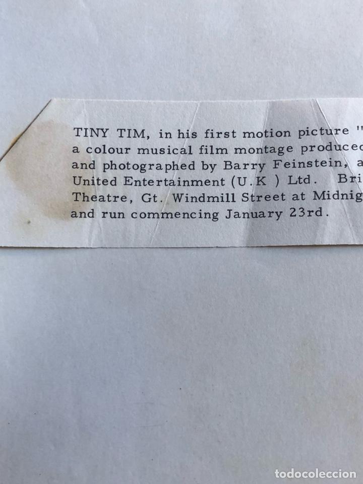 Cine: Antigua fotografía del polifacético tiny tim - Foto 3 - 202637468