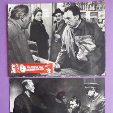 Cine: 12 FOTOCROMOS CINE EL ESPIA QUE SURGIO DEL FRIO RICHARD BURTON CLAIRE BLOOM. Lote 203724383