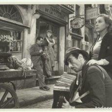 Cinema: F31195 AMPARO RIVELLES LA CALLE SIN SOL FOTO B/N ORIGINAL ESPAÑOLA. Lote 203785272