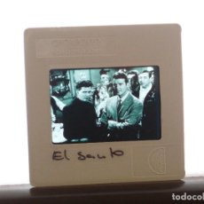 "Cine: DIAPOSITIVA PROMOCIONAL SERIE TV ""EL SANTO"" THE SAINT. ROGER MOORE 5 X 5. Lote 204224032"