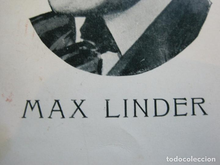 Cine: MAX LINDER-POSTAL ANTIGUA DE CINE-VER FOTOS-(70.521) - Foto 4 - 205316566