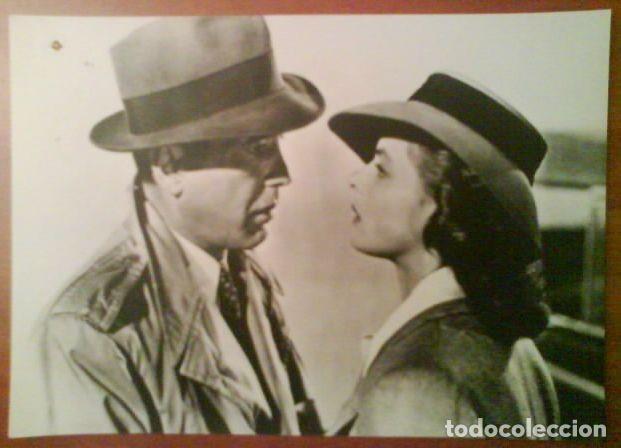 FOTOGRAFÍA CASABLANCA - BOGART (Cine - Fotos y Postales de Actores y Actrices)