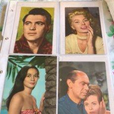 Cine: LOTE DE 8 FOTO-POSTALES DE CINE. Lote 205435856
