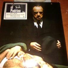Cine: EL PADRINO FOTOCROMO ORIGINAL-ESTRENO LOBBY CARD-MARLON BRANDO-JAMES CAAN-. Lote 205450490