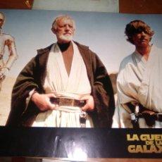 Cine: LA GUERRA DE LAS GALAXIAS FOTOCROMO ORIGINAL LOBBY CARDS ESTRENO-ALECC GUINES-. Lote 205450738
