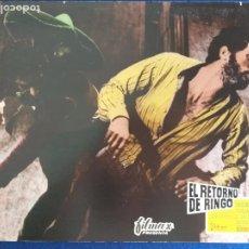 Cine: FOTOCROMO: EL RETORNO DE RINGO. GIULIAN GEMMA DUCCIO TESSARI SPAGHETTI. CARTON. WESTERN. 38,5 X 28,5. Lote 205540083