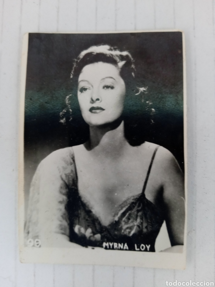 MYRNA LOY (Cine - Fotos, Fotocromos y Postales de Películas)