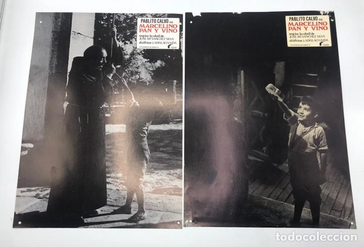 Cine: MARCELINO PAN Y VINO 12 FOTOCROMOS LOBBY CARDS SET COMPLETO CINE PABLITO CALVO FLYER PUBLICITARIO. - Foto 6 - 205683485