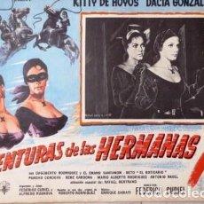 Cine: VINTAGE LOBBY CARD DE LA PELÍCULA AVENTURAS DE LAS HERMANAS X AÑOS 50S. Lote 205866367