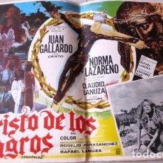 Cine: VINTAGE LOBBY CARD DE LA PELÍCULA EL CRISTO DE LOS MILAGROS AÑOS 60S. Lote 205867776