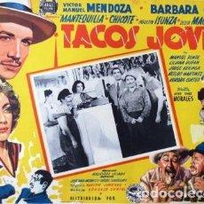 Cine: VINTAGE LOBBY CARD DE LA PELÍCULA TACOS JOVEN AÑOS 40S. Lote 205868293