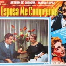 Cine: VINTAGE LOBBY CARD DE LA PELÍCULA MI ESPOSA ME COMPRENDE AÑOS 40S. Lote 205868460