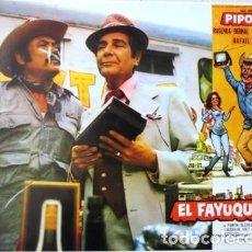 Cine: VINTAGE LOBBY CARD DE LA PELÍCULA EL FAYUQUERO AÑOS 60S. Lote 205868617