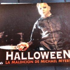 Cine: FOTOCROMOS. HALLOWEEN. LA MALDICION DE MICHAEL MYERS. Lote 205881363
