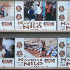 Cine: SCDO 034 NAVIDAD EN EL NILO CHRISTIAN DE SICA MABEL LOZANO SET COMPLETO 6 FOTOCROMOS ORIG ESTRENO. Lote 236344010