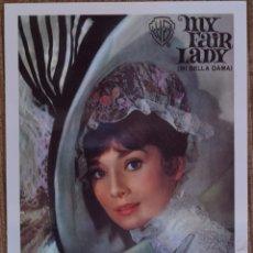 Cine: MY FAIR LADY - POSTAL. Lote 206359541