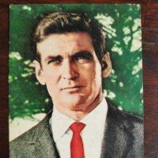 Cine: TARJETA DEL ACTOR DE CINE ROD TAYLOR, ACTOR DE CINE AUSTRALIANO, DEL HOLLYWOOD EN LOS AÑOS 1960. Lote 206785227