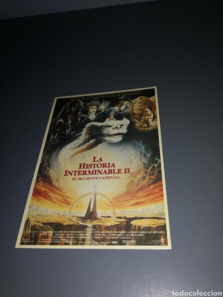 EST2. T15. TARJETA POSTAL. LA HISTORIA INTERMINABLE II (Cine - Fotos, Fotocromos y Postales de Películas)