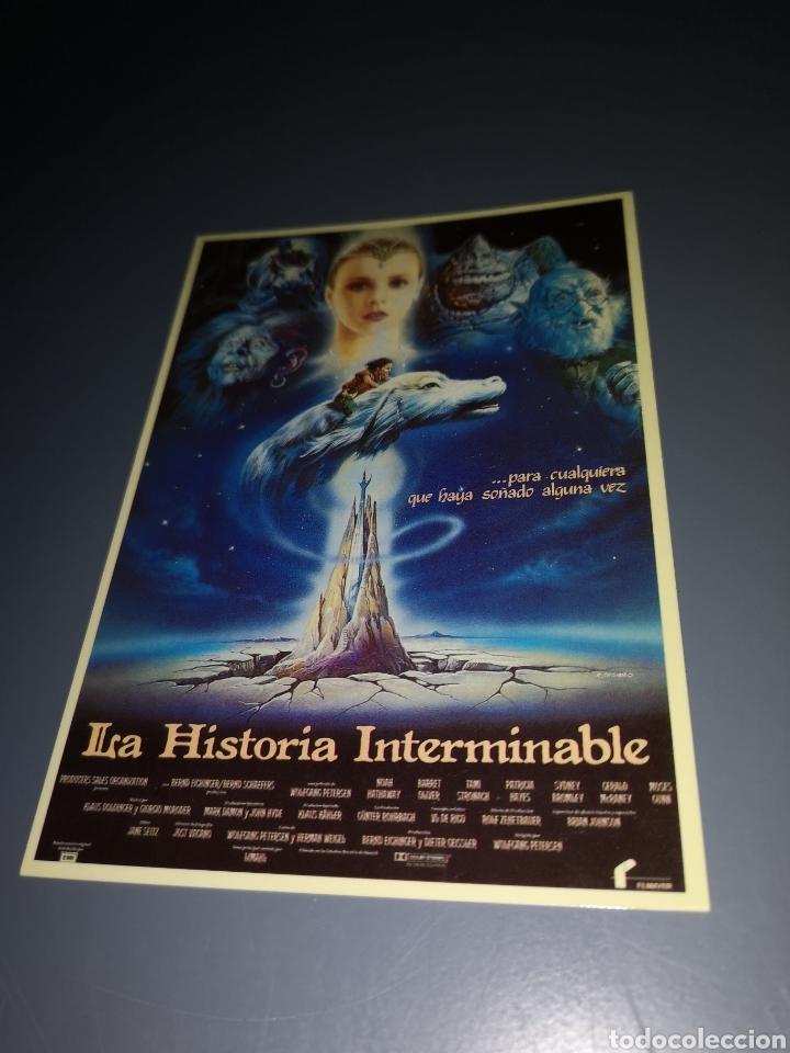 EST2. T16. TARJETA POSTAL. LA HISTORIA INTERMINABLE (Cine - Fotos, Fotocromos y Postales de Películas)