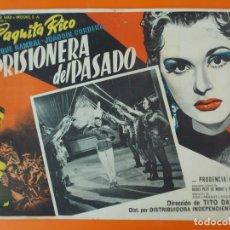 Cine: PRISIONERA DEL PASADO, PAQUITA RICO - AÑO 1954 - LOBBY CARD... L1228. Lote 207073013