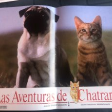Cine: FOTOCROMOS LAS AVENTURAS DE CHATRAN. Lote 207295728