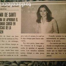 Cine: RECORTE DE PRENSA - INMA DE SANTIS - AÑO 1980. Lote 209300106